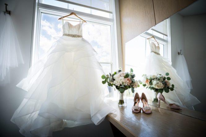 Wedding dress for a Maritime Parc wedding