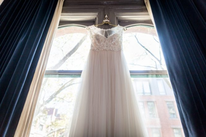 Wedding dress for a Gallow Green wedding
