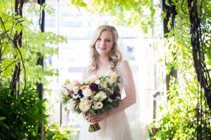 Bridal portrait before a Gallow Green wedding