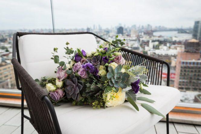 Bouquet for a 26 Bridge wedding