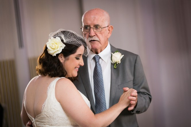Father daughter dance for article on a Terrace on the Park wedding