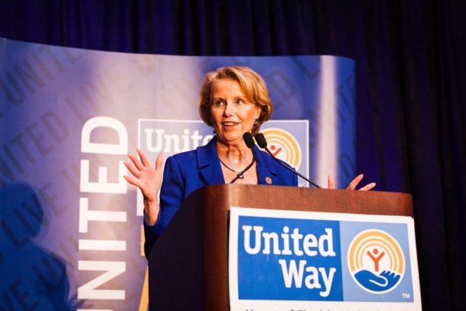 Speaker at United Way event
