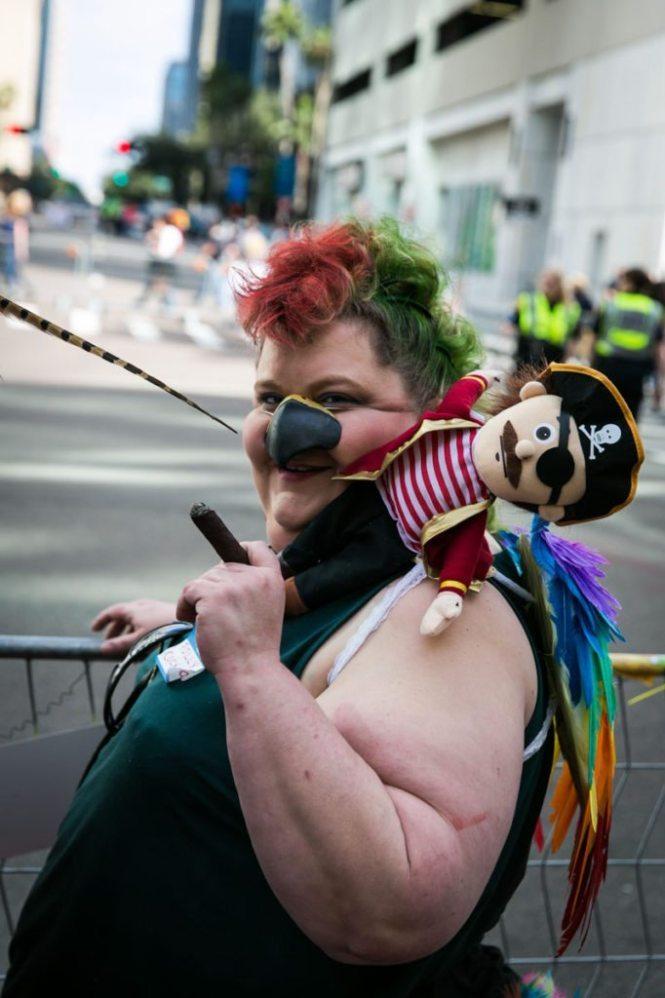 Tampa celebrates Gasparilla 2015, by NYC photojouralist, Kelly Williams.