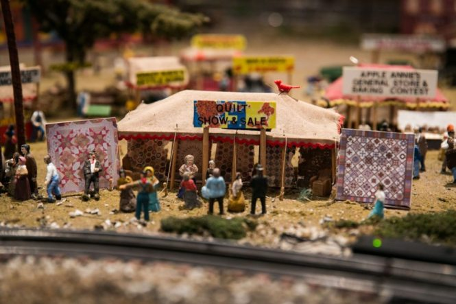 Cracker Country train display at the Florida State Fair, photographed by NYC photojournalist, Kelly Williams