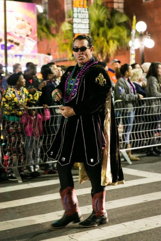 Photo from the 2015 Ybor City Knight Parade in Tampa, by NYC photojournalist, Kelly Williams