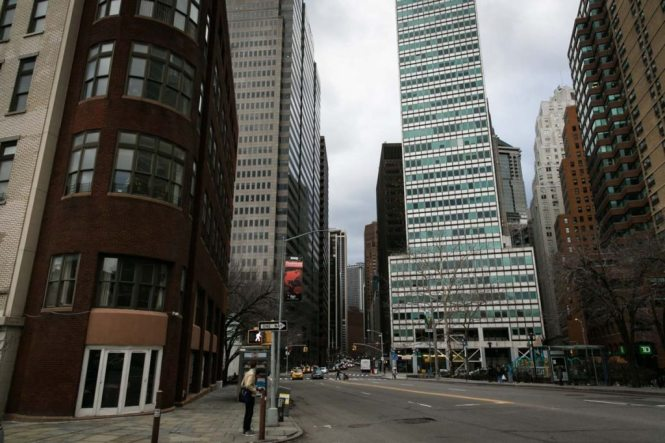 Photo of downtown New York City for an article on NYC band portrait locations, by NYC photojournalist, Kelly Williams