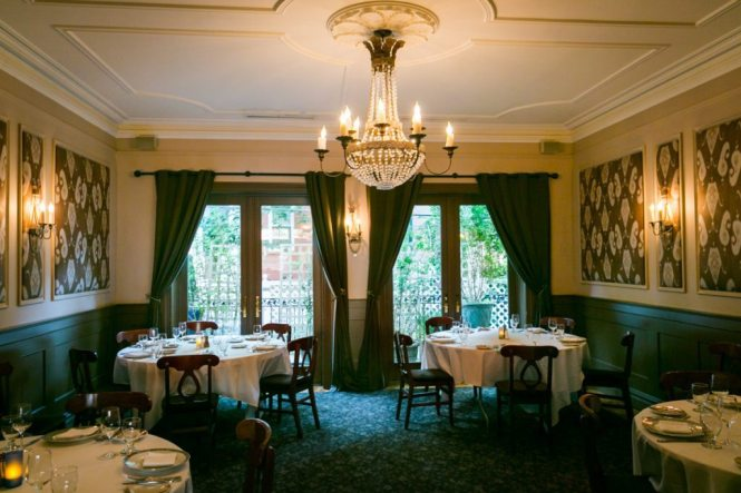 Photo of Amanda's Restaurant to accompany an article on venue checks by Hoboken wedding photographer, Kelly Williams
