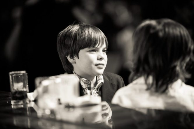 Candid photo from a Brooklyn bar mitzvah at 26 Bridge, by Brooklyn bar mitzvah photographer, Kelly Williams