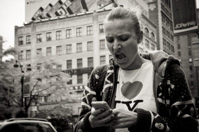 NYC street rage, by NYC photographer, Kelly Williams