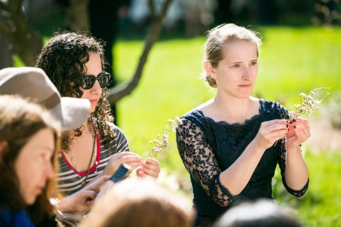 New York Marble Cemetery Garden Party hosted by Atlas Obscura by NYC photojournalist, Kelly Williams