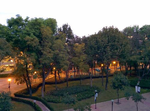 Photo from my office at Tecnológico de Monterrey, Campus Guadalajara
