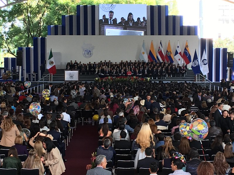 Photos of the graduation ceremony at the Tecnológico de Monterrey in Guadalajara. December 2016.