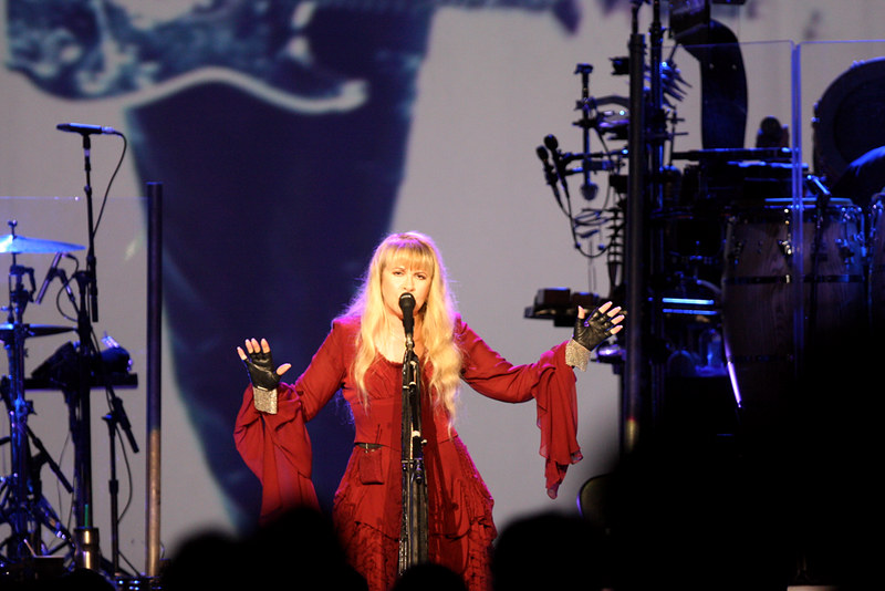 Stevie Nicks performing at Sydney Entertainment Centre