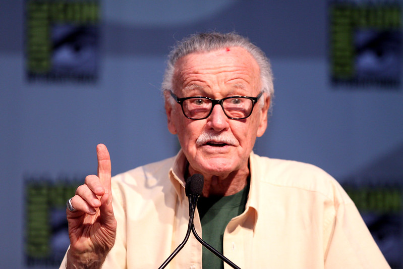 Stan Lee at the 2010 San Diego Comic Con in San Diego, California.