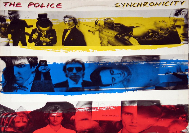 "POLICE SYNCHRONICITY, with STING 12"" vinyl LP"