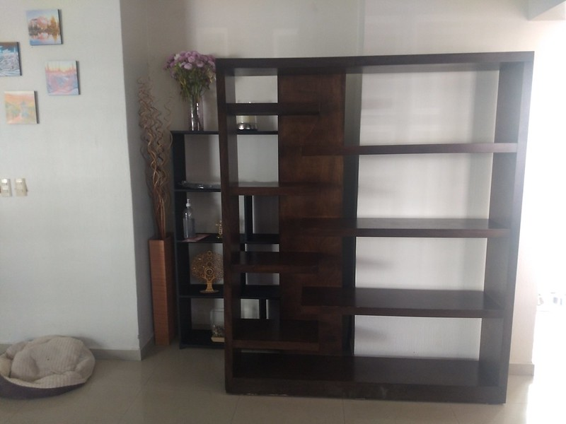 A new bookshelf we bought today.