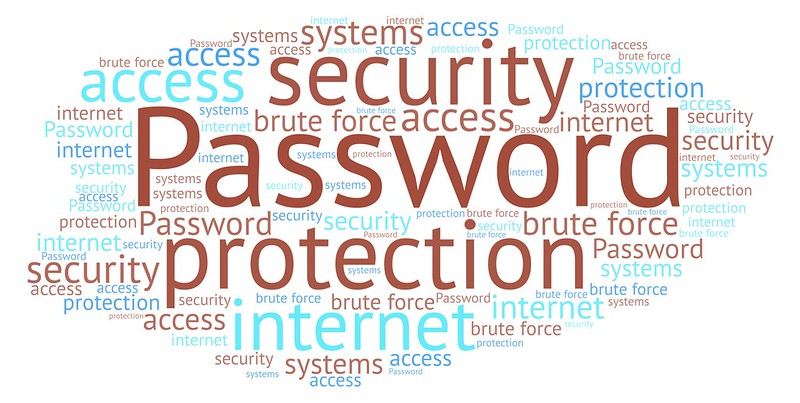 """A wordcloud featuring """"Password"""""""