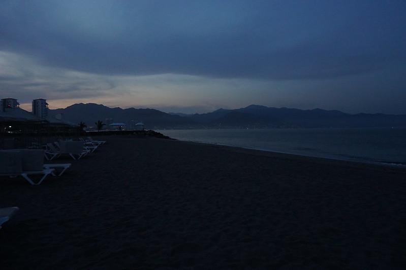 A sunrise in Puerto Vallarta, Jalisco, México