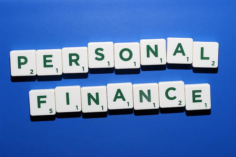 Scrabble tiles spelling Personal Finance