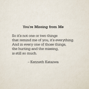 You're Missing from Me 512 x 512