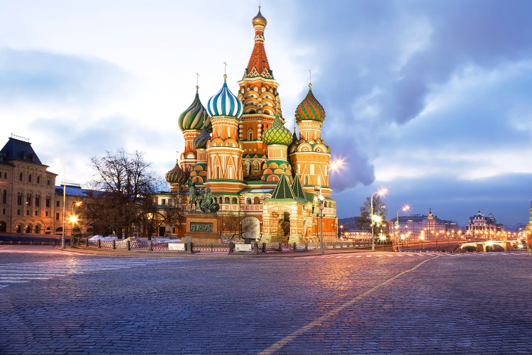 Moscow. St. Basil's Cathedral.