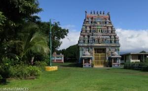Un temple tamoul près de Saint-André