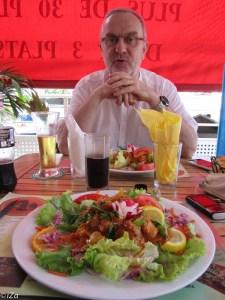 Première halte gastronomique à Saint-André