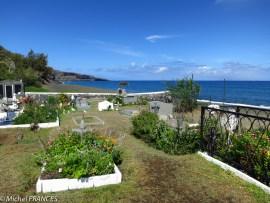 La proximité de la plage lui vaut ce qualificatif de cimetière marin