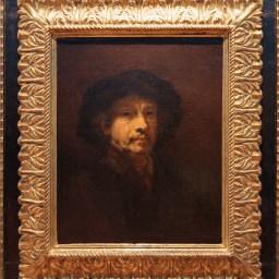 Nombreux autoportraits de Rembrandt