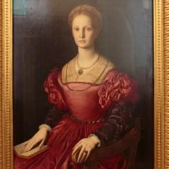 Agnolo Bronzino : portrait de Lucrezia Panciatichi