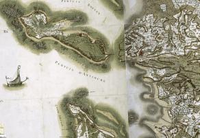 Carte de Cassini, feuilles 133 et 101 vers 1765 - 1771