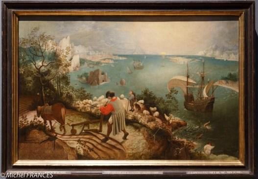 Paysage avec la chute d'Icare de Brueghel