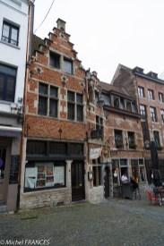 Vieille maison rue Rollenbeek