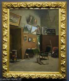Frédéric Bazille - L'atelier de la rue de Furstenberg