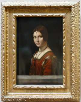 Léonard de Vinci - La belle Ferronière