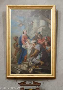Carle van Loo - l'Adoration des Mages - 1739