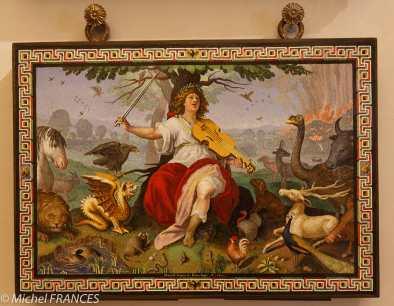 Marcello Provenzale - Orfeo - Mosaïque - 1618