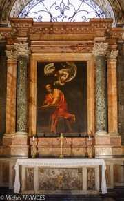 Le Caravage : saint Matthieu et l'Ange