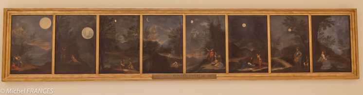Donato Creti - Observations astronomiques - 1711