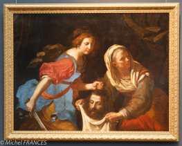 Giovanni Francesco BARBIERI dit GUERCHIN - Judith et Holopherne - 1651