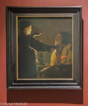 Georges de LA TOUR - L'Apparition de l'Ange à saint Joseph, dit aussi Le songe de saint Joseph