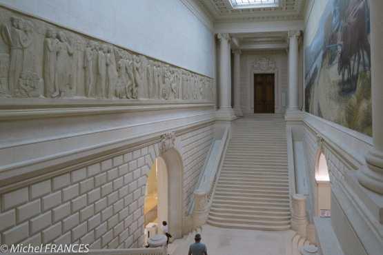 L'entrée du musée des arts de Nantes