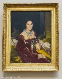 Jean Auguste Dominique INGRES - Portrait de Madame de Senonnes -1814