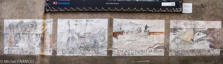 Une fresque à la gloire des marins