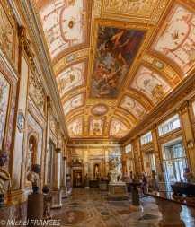 Villa Borghèse à Rome - le problème est de tout faire rentrer sur le capteur, depuis le sol jusqu'aux superbes plafonds