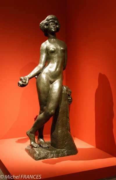 Musée Bourdelle - exposition Bourdelle et l'antique - Antoine Bourdelle - Le fruit, grand modèle définitif, 1902-1911