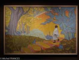 Musée du quai Branly - Peintures des lointains - Willy Worms - Ambohimanga - vers 1925
