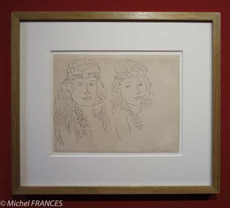 Musée du quai Branly - Peintures des lointains - Henri Matisse - Tahitiennes - 1930