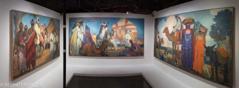 Musée du quai Branly - Peintures des lointains - Jeanne Thil -1935 - AOF - Togo - Cameroun