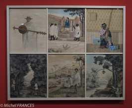 Musée du quai Branly - Peintures des lointains - Joseph Razafintseheno - Six scènes malgaches